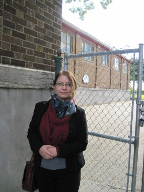 In October I visited the School in Montreal where I attended 1st & 2nd grade...