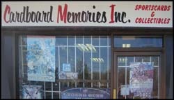 Image from the Cardboard Memories website, and shows their old location