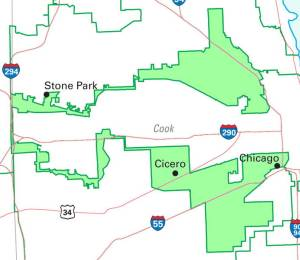 Gerrymandered District