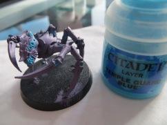 First Detail Colour : Temple Guard Blue
