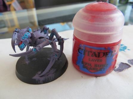 Second Detail Colour : Evil Sunz Scarlet