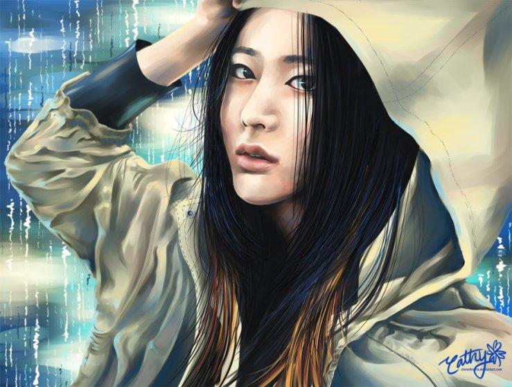 raining_stars__f_x__krystal__by_cloverhearts-d5pyx29