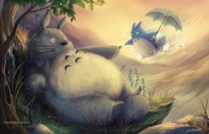 creation_of_totoro__by_falsedelusion-d792kyl