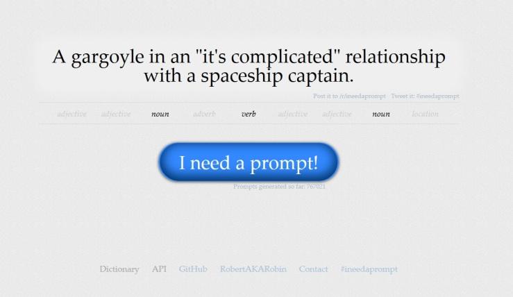 I Need a Prompt